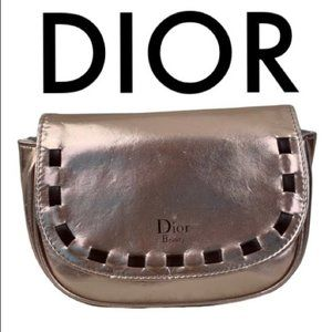DIOR GOLD COSMETIC BAG